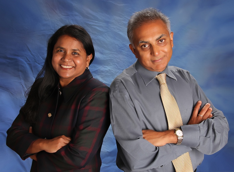 Dr. Sirivolu and Dr. Patel